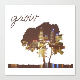To Grow Canvas Print