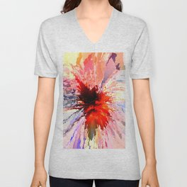 Abstract Composition 361 Unisex V-Neck