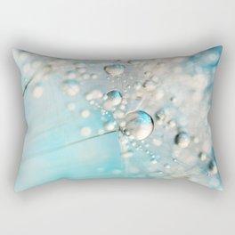 Sparkle in Blue Rectangular Pillow