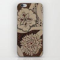 fierce iPhone & iPod Skins featuring Fierce by fawnadine