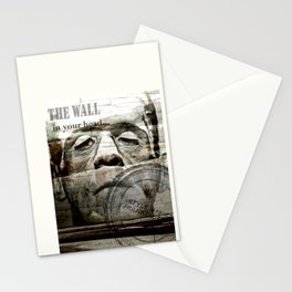The wall in your head... Stationery Cards