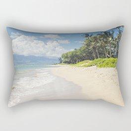 Kawililipoa Beach Kihei Maui Hawaii Rectangular Pillow