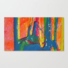 The Manipulation Of Paint #2 Canvas Print