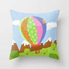 BALOON (AERIAL VEHICLES) Throw Pillow