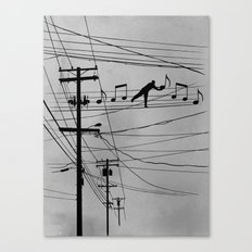 High Notes Canvas Print