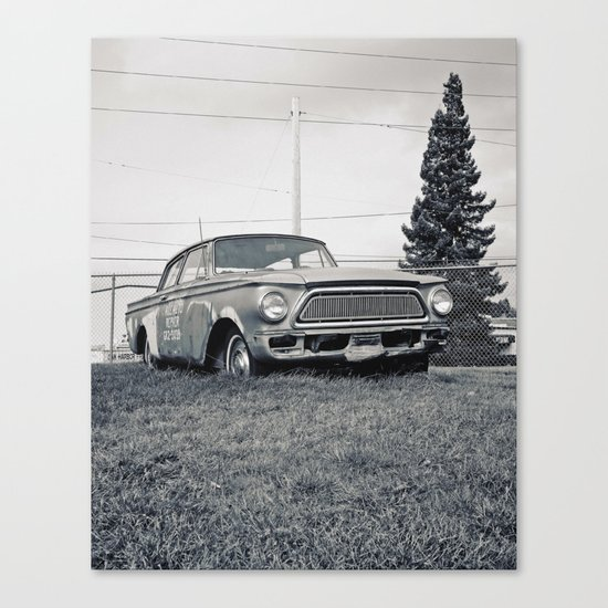 Rusty Rambler Canvas Print