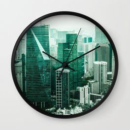 The Emerald City Wall Clock