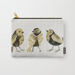 24-Karat Goldfinches Carry-All Pouch