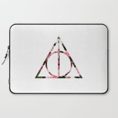 The Girly & Deathly Hallows Laptop Sleeve