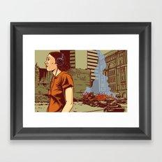 Locals Only - Portland, OR Framed Art Print