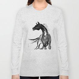Horse (Ink sketch) Long Sleeve T-shirt