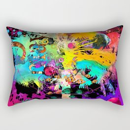 TieDie Palm Tree Rectangular Pillow