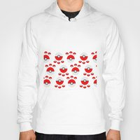 pokeball Hoodies featuring Pokeball Print by UMe Images