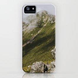 Summer days on the Franconia Ridge iPhone Case