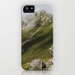 Summer days on the Franconia Ridge iPhone Case
