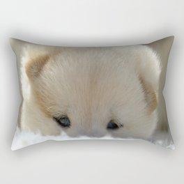 Shiba Inu Puppy Rectangular Pillow