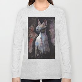 sphynx cat Long Sleeve T-shirt