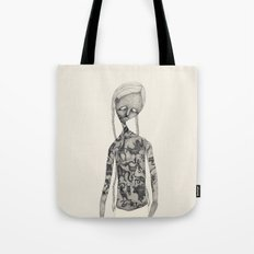 Animal man Tote Bag