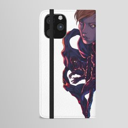 Lara and Leon iPhone Wallet Case