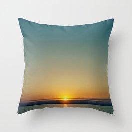 sunset . ii Throw Pillow