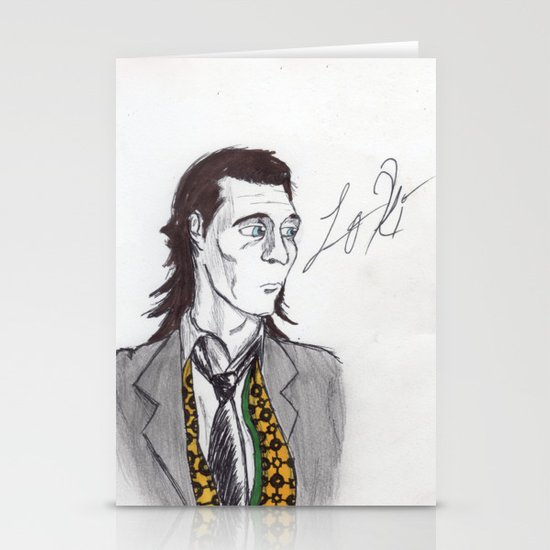 God of Mischief Stationery Cards
