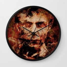 Oblivious People 3 Wall Clock