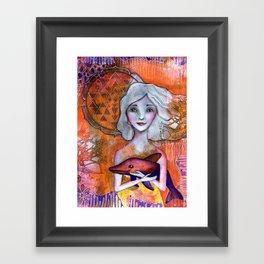 Dolphin Love Framed Art Print