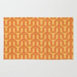 orange factory Rug