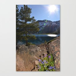 Alpine Lake, Oregon Canvas Print