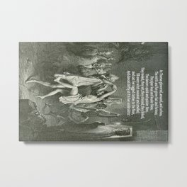 Tam O'Shanter Burns Night Celebrations Metal Print