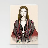 gucci Stationery Cards featuring Gucci illustration by Tania Santos