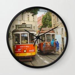 Tram Coca 2 Wall Clock