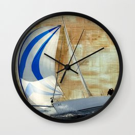 sail race Wall Clock