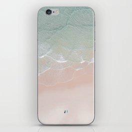 Surf yoga iPhone Skin