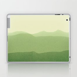 gradient landscape green Laptop & iPad Skin