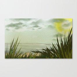 Digital Painting, Pastel Landscape Canvas Print