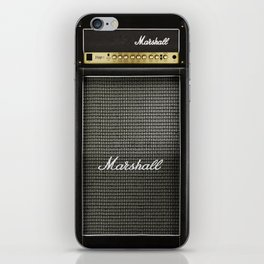 Gray amp amplifier iPhone Skin