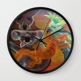 Australian Animals Wall Clock