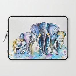 Elephant Herd Laptop Sleeve