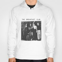 breakfast club Hoodies featuring The breakfast club by Mariana M