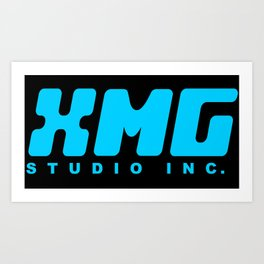 XMG Studio, Blue Art Print