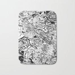 'Doodle mania' Bath Mat