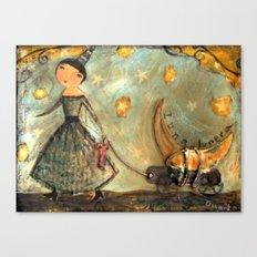 Moon Keeper Canvas Print