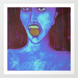el grito Art Print