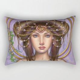 Art Noveau Rectangular Pillow