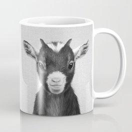 Baby Goat - Black & White Coffee Mug