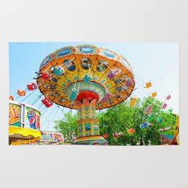 National Cherry Festival - Traverse City, Michigan - Arnold Amusements Rug