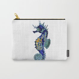 Blue Horse Carry-All Pouch