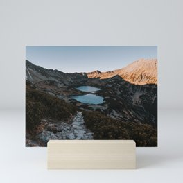 Mountain Ponds - Landscape and Nature Photography Mini Art Print