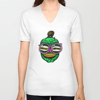rave V-neck T-shirts featuring Rave by Beat